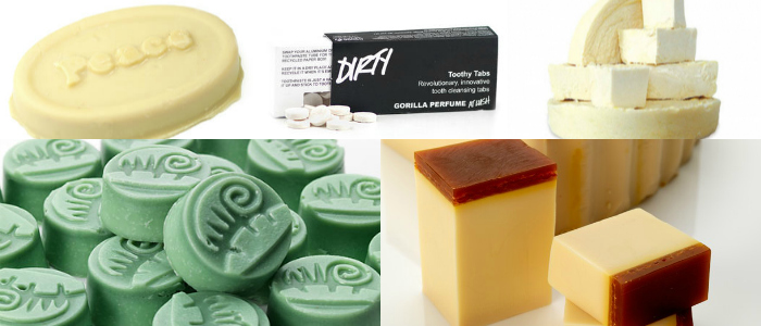 Lush products that are great for travel. Or are they?
