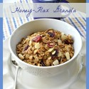 My Best Recipe: Honey-Flax Granola