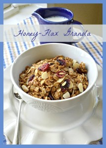 Honey-Flax Granola